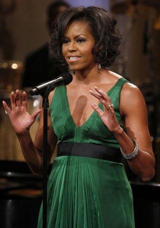 Michelle emerald green