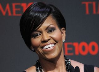 Michelle Obama Speaks at Time 100