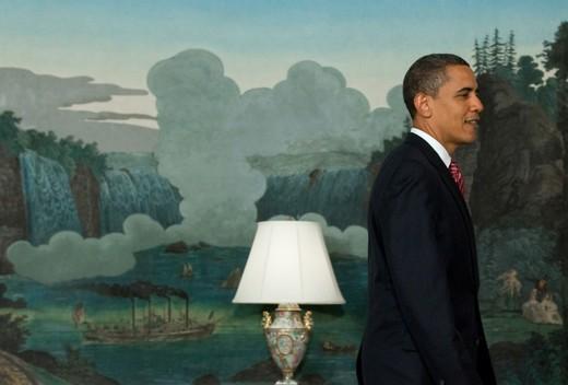 Obama Diplomatic Recpt Room